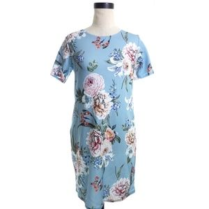 Boohoo Floral Shift Dress